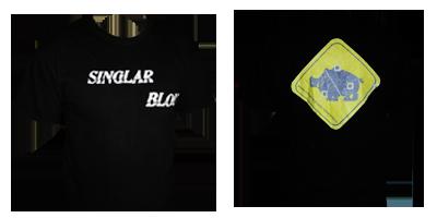 T-shirt Singlar Blou
